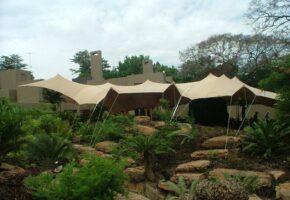 Bedouin / Nomadik Tent & White frame tent - Dougs Hiring