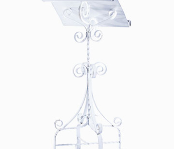 Podium - Wrought Iron(White)