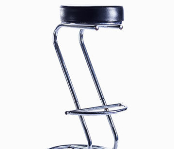 Bar Stool - Chrome