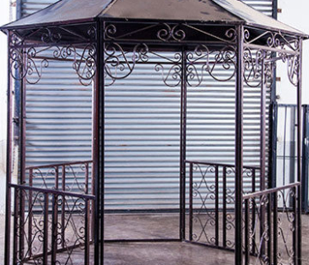 Wedding Gazebo (Wrought Iron)