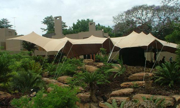 Bedouin Tent and Aladdin Stretch Tent